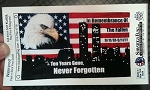 Sticker: Sept 11 Tenth Anniversary