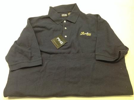 Salvation Army Logo Polo Shirt Vintage