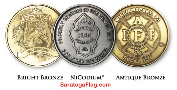 Custom Challenge Coins- Made in USA
