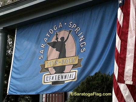 City Of Saratoga Springs Official Centennial Flag 2x4ft
