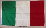 ITALY FLAG- COTTON- All Sizes
