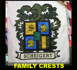 Family Crest Banners