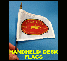 HAND-HELD FLAGS