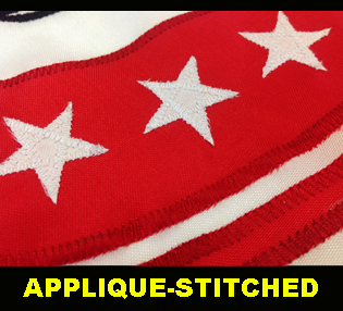 APPLIQUE STITCHED
