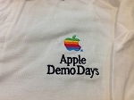 APPLE COMPUTER Demo Days Logo Polo Shirt - VINTAGE