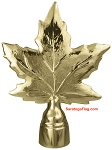 FINIAL: Maple Leaf- Metal