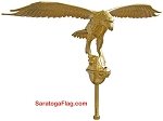 Finial: Eagle Ornament (24 inch)  for Outdoor Flagpole