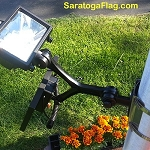 Solar Light for Flagpoles-Commerical Grade LED-280 Lux
