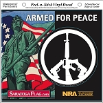 Sticker: Armed for Peace /5