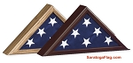 Display Case- Capitol Flag Case- Small