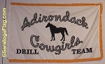 .ADIRONDACK COWGIRLS FLAG- Digital Print- All Sizes