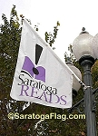 .SARATOGA READS BANNERS- 5FT x 3FT Angle-Top