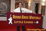 .BERNE-KNOX-WESTERLO LITTLE LEAGUE- Canvas PARADE BANNER