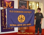 .BSA OLD DOMINION DISTRICT FLAG