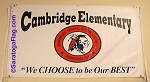 .CAMBRIDGE ELEMENTARY SCHOOL- Vinyl Banner