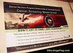 .CANCER SCREENING - Vinyl Banners