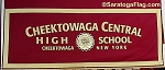 .CHEEKTOWAGA CENTRAL HIGH SCHOOL- Custom FELT BANNERS