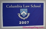 .COLUMBIA LAW SCHOOL- Custom FELT BANNERS