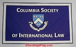 .COLUMBIA SOCIETY OF INTERNATIONAL LAW- Custom FELT BANNERS