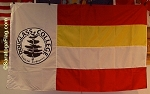 .DOUGLASS COLLEGE-RUTGERS UNIVERSITY- APPLIQUE Stitched Flag