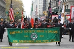 .FIRE DEPARTMENT OF NEW YORK CITY- Emerald Society Banner