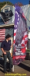 .Custom - Feather Style Banner - Outdoor Events: 8ft, 10ft, 12ft Flags