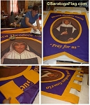 .BLESSED THEODORE GUERIN HIGH SCHOOL- Custom FELT BANNER