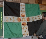 .FORT TICONDEROGA- Historical French Flag