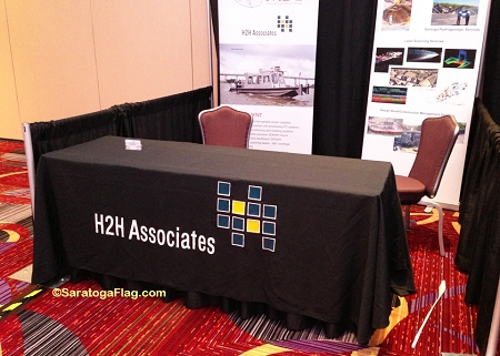 H2h Associates Table Cover Banner