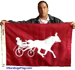 .HARNESS RACING TRAINER - Custom Flag