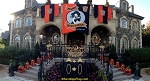 .HALLOWEEN BANNERS- PALAZZO RIGGI- Applique Stitched