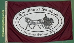 .INN AT SARATOGA- Custom Flag