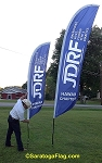 .JDRF- Custom Wave Style Banner - 12 ft or 8ft Outdoor Events