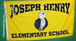 .JOSEPH HENRY ELEMENTARY SCHOOL FLAG- Digital Print- All Sizes