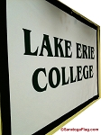 .LAKE ERIE COLLEGE- Custom FELT BANNERS