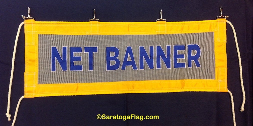 Custom Net Banner- Across The Street Scrim