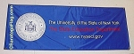 .NEW YORK STATE EDUCATION DEPT- TABLE RUNNER - Digital Print