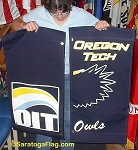 .OREGON TECH- Canvas Street Pole BANNERS