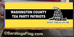 Custom PARADE BANNER - TEA PARTY - Digital Print