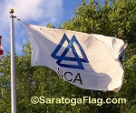 .SCA TISSUE Corporate FLAG- APPLIQUE Stitched