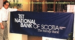 .FIRST NATIONAL BANK OF SCOTIA- Custom Vinyl Banner