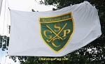 .SARATOGA GOLF POLO CLUB Flag- Custom APPLIQUE Stitched Nylon