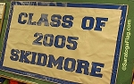 .SKIDMORE COLLEGE - Canvas CLASS BANNER
