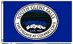 .SOUTH GLENS FALLS Flag - 3x5ft Nylon