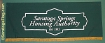 .SARATOGA SPRINGS HOUSING AUTHORITY- Canvas BANNER