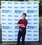 .JDRF- Custom BACKDROP BANNER KIT: 8ft x 8ft Fabric