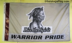 .STILLWATER WARRIORS- Team Spirit Flag