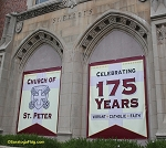 .CHURCH OF SAINT PETER - Custom Vinyl Banners