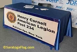 AMERICAN LEGION- Custom TABLE COVER Banner