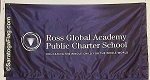 .ROSS GLOBAL ACADEMY- TABLE RUNNER - Poly Twill